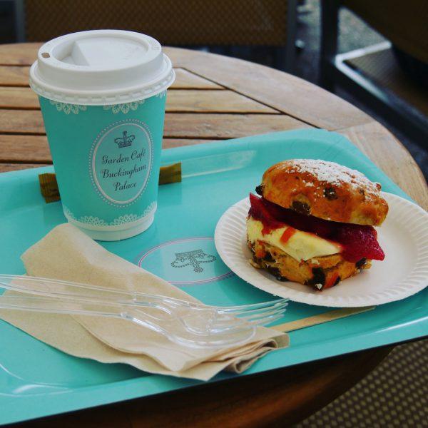 Cream Tea at the Garden Café