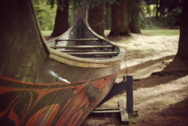 Black Eagle Canoe (Vandusen Botanical Garden)