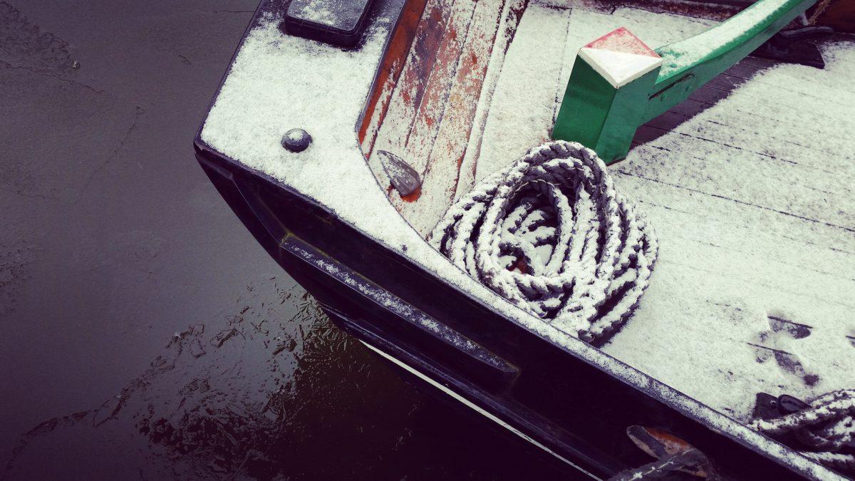 Winter im Sandtorhafen