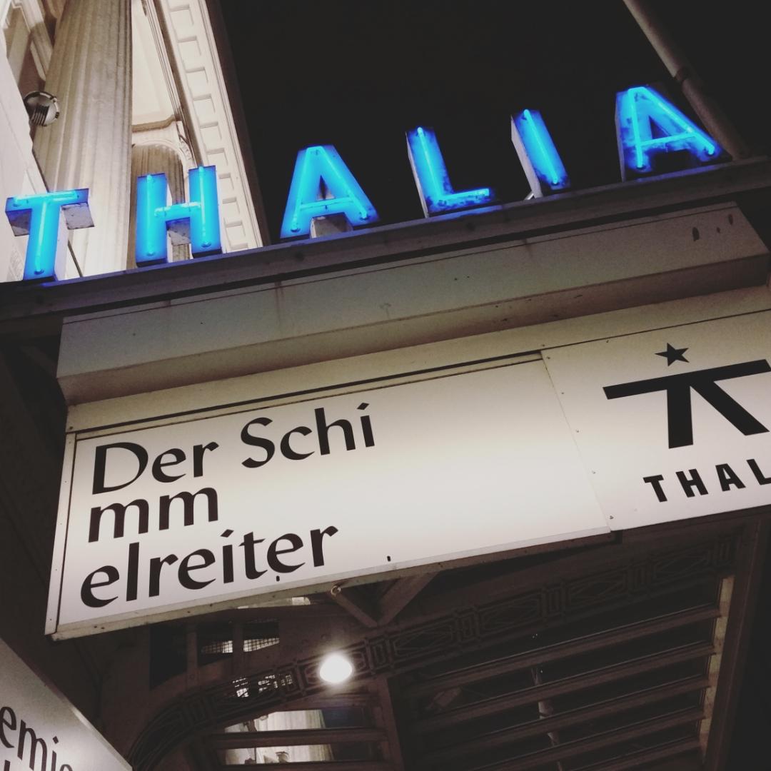 Theater, Theater: Der Schimmelreiter im Thalia