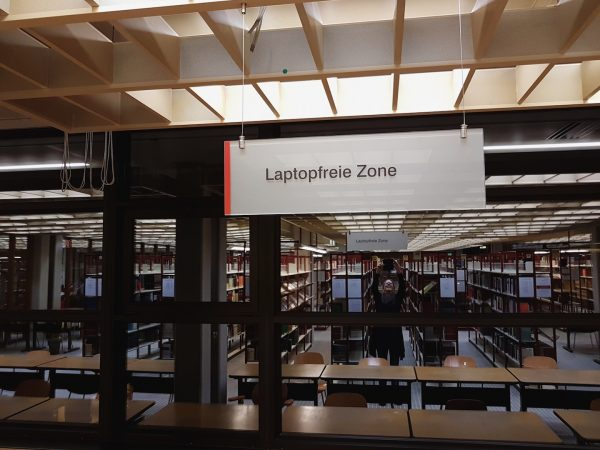 Laptopfreie Zone