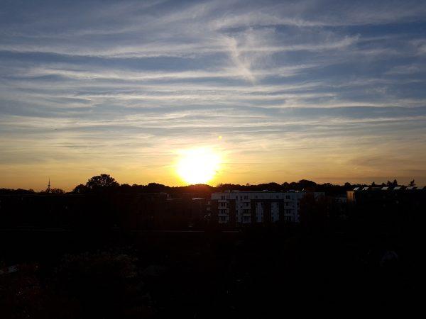 Himmel über Barmbek