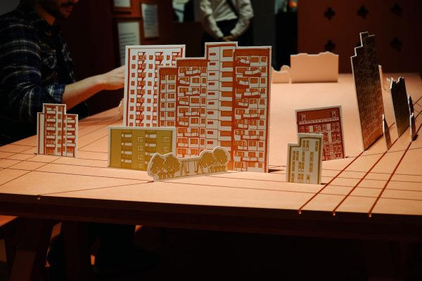Stadtplanung am Reißbrett